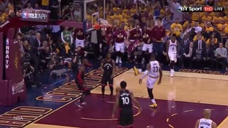 LeBron James Dunks All Over Raptors - Video