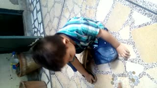 Cute baby learning counting 1 to 20 very interesting must watch and share  - Video