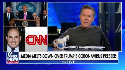 Gutfeld lambastes media for its reaction to the coronavirus