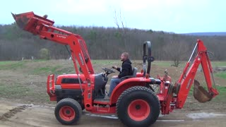 3 in 1 Tractor check Complete Review of Tractor with Loader, Blade  - Video