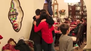 Santa Claus Helps Guy Pull Off Surprise Marriage Proposal