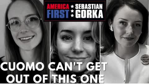 Cuomo can't get out of this one. John Solomon on AMERICA First with Sebastian Gorka