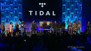 Big names in music back new Jay Z streaming service 'Tidal' - Video