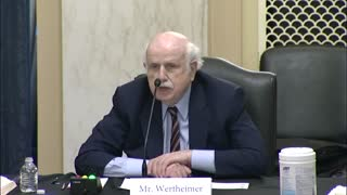 Senate Rules Committee Hearing on voting and Elections Bill S.1 'For the People Act'