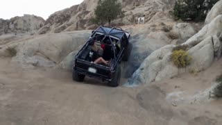 Girl Gets Thrown Off, Off Roading Vehicle - Video