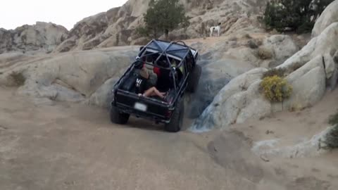 Girl Gets Thrown Off, Off Roading Vehicle