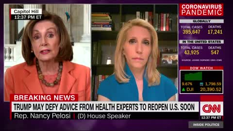 Nancy Pelosi rips Trump's plan to reopen economy for unemployed Americans