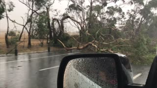 Aftermath of Intense Australian Storm