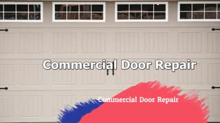 Commercial Door Repair - FastFix Commercial Door Repair Services - Video
