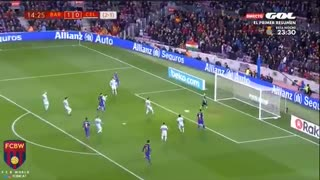 Gol de Messi (2) vs Celta Vigo . - Video