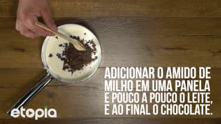 Sobremesa de chocolate - Video