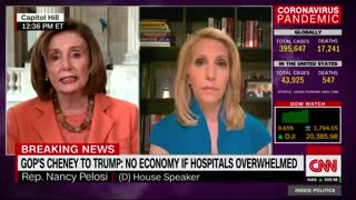 Nancy Pelosi slams Trump's plan to reopen economy for unemployed Americans