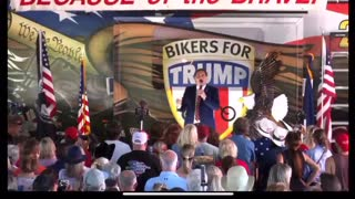 Mike Lindell At Biker's For Trump Mother's Day Rally!
