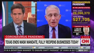 Dr Anthony Fauci On States Lifting Mask Mandates