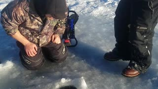 Ice Fishing Prank - Video