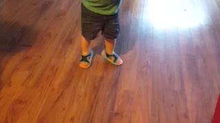 One Year Old Has The Funniest Dance Moves  - Video