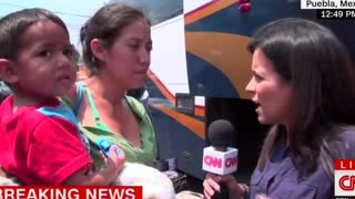 CNN Reporter Asks Caravan Immigrant If She Had Been Raped On Journey - Video