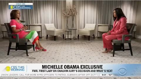 Michelle Obama told Gayle King