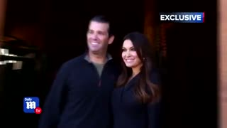 Donald Trump Jr and Kimberly Guilfoyle first ever joint TV interview with DailyMailTV