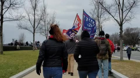 Patriot March in DC