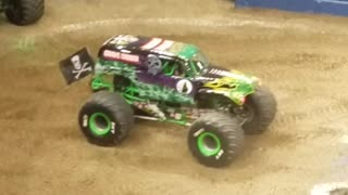 Grave Digger at Fiserv Forum