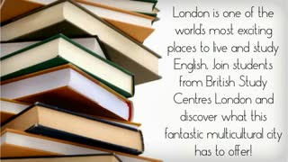 learn english in london - Video