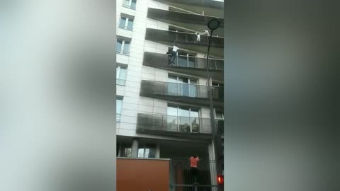 Man Risks His Life To Save A Baby