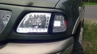 97-03 LED Head and Taillights - Video