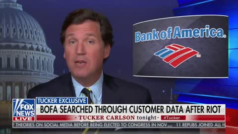 Mark of the Beast Technology-In Bombshell Report Tucker Carlson Alleges Bank of America...