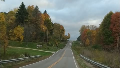 2019 fall colors in Mansfield Ohio
