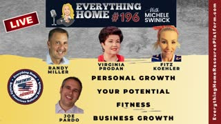 196 LIVE: Personal Growth, Your Potential, Fitness, Business Growth *MUST LISTEN TO PATRIOTIC SHOW*