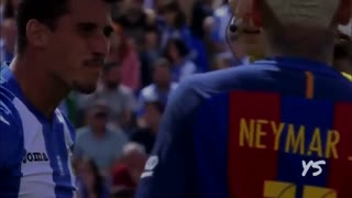 Neymar Jr and Rafinha Angry Reaction vs Leganes - Video