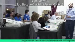 Fullton County election fraud caught on VIDEO!