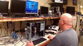 Building a  gaming PC part 8  boot to bios  - Video