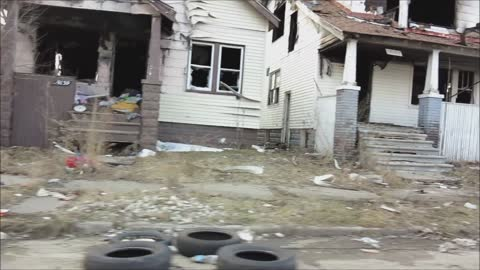 Take a tour through Detroit's worst looking areas