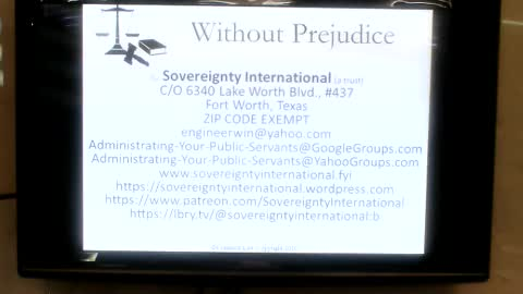 Without Prejudice at the Northeast Private Information Share Part 1
