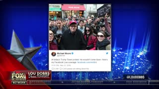 Michael Moore attends Russia-sponsored anti-Trump rally - Video