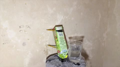 Crossbow Shooting in a Glass of Water (SLOW MO)