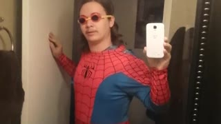 Collab copyright protection - wednesday dudes spiderman - Video