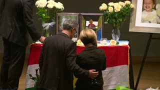 Vigil held for drowned Syrian toddlers - Video