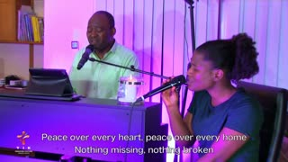 Peace over every heart - Shalom by Joseph Akinyele