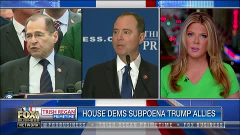 House Democrats closing in and subpoena Trump allies