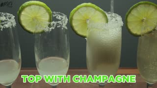 How To Make Champagne Margaritas - Full Recipe - Video