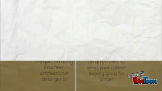 Clean Carpets Chester - Video