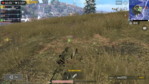 Knocked Out Hide Enemy In Pubg Game