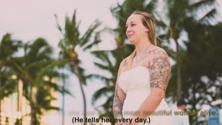 He Comes Back From An 8-Month Deployment To Find Girlfriend In A Wedding Dress  - Video