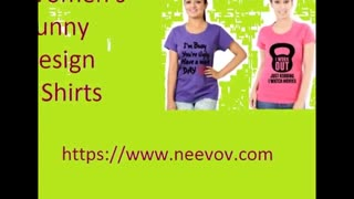 Pink Colour Womens Round Neck T Shirts - Video