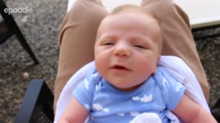 Bad lip reading: Adorable newborn baby - Video