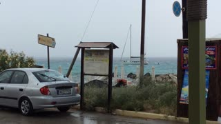 Sailboat Gets Dramatically Struck By Lightning - Video