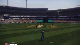 Australia 3 runs 6 wicket then Australia win(Don Bradan Cricket 2014) - Video